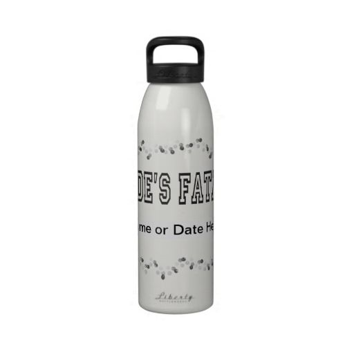 Bride's Father Drinking Bottle