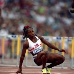 It was the best of times and the worst of times for American runner Gail Devers at the 1992 Games in Barcelona. After winning Gold in the 100M, she seemed destined to repeat her victory in the 100M hurdles. That is, until she tripped on the final hurdle and stumbled her way to a fifth-place finish.  Celebuzz