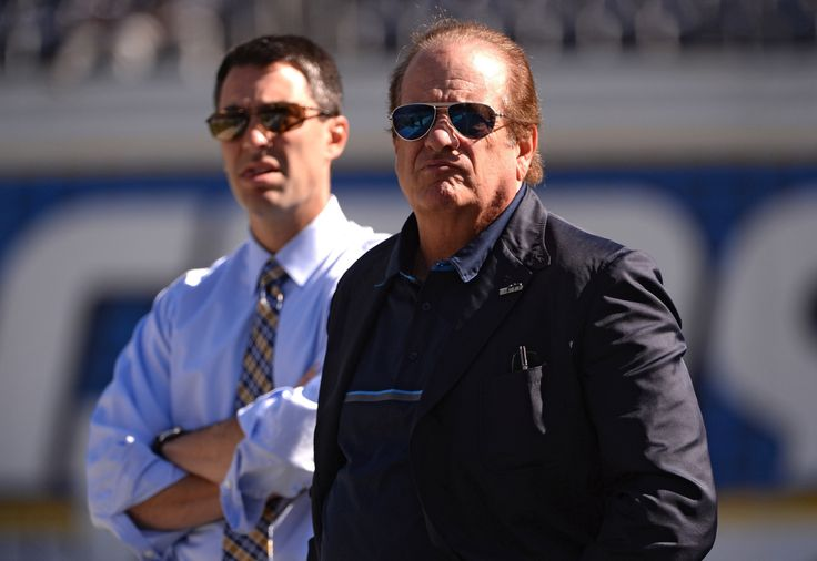 Dean Spanos got heckled during the Chargers kickoff event on Wednesday.