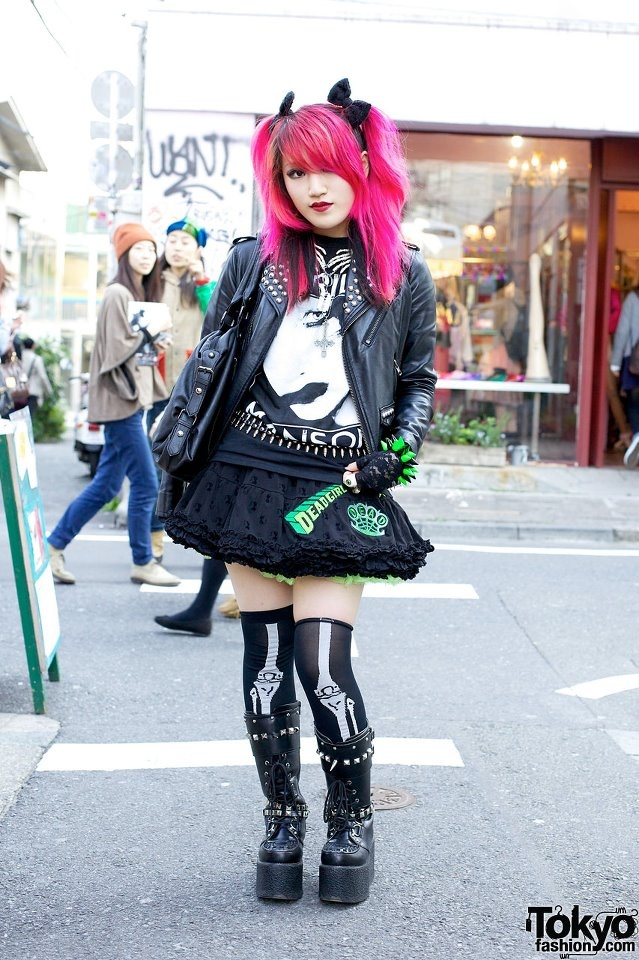 Japan punk girls sex