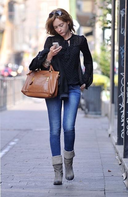 Cristiana Capotondi wearing #Fornarina #PerfectShape