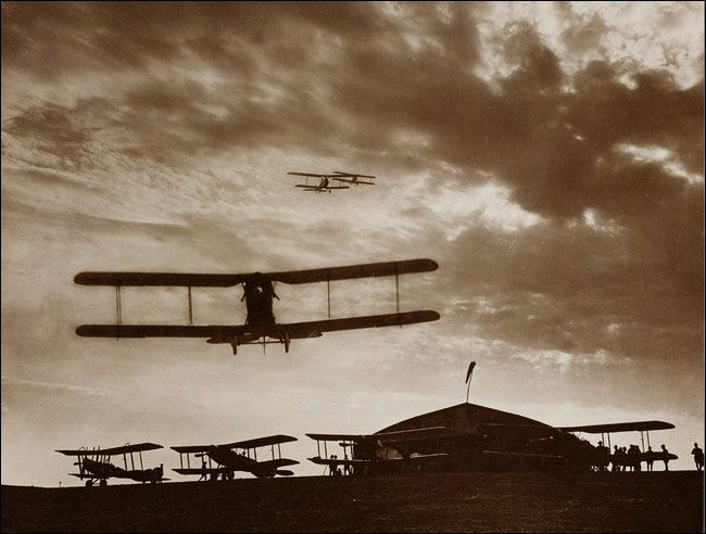 Free Rare Vintage WWI Aviation Photographs ★ Copyright Free ...