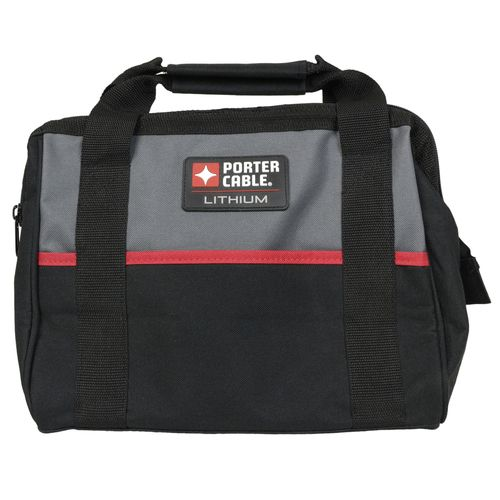 "Porter Cable 13"""" Heavy-duty Contractor Soft Sided Tool Bag"