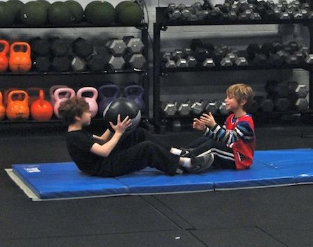 CrossFit Kids program at Fearless Athletics