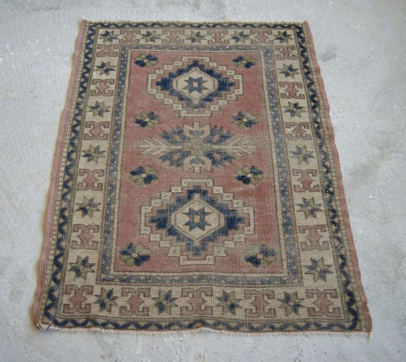 Small Rug Turkish Carpet Boho Home Decor