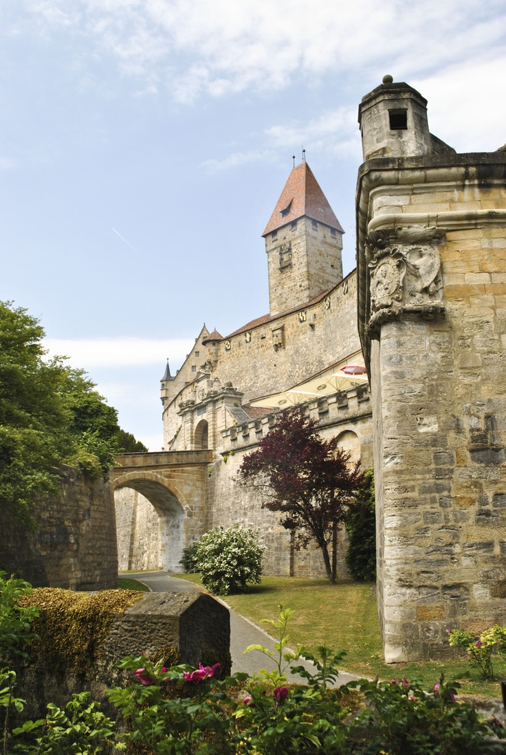 Coburg fortress, Germany - Martin Luther was exiled here wrote 'a mighty fortress is our god' here you can see his room awesome castle