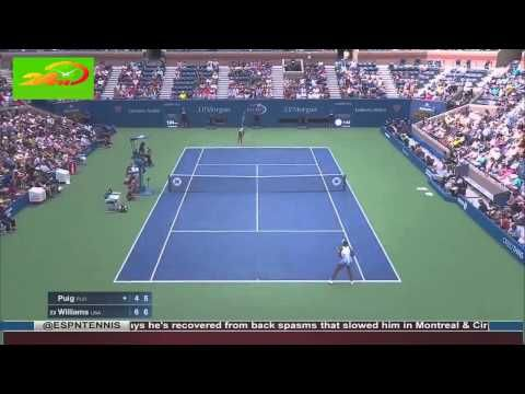 Venus Williams vs Mónica Puig tennis highlights US OPEN