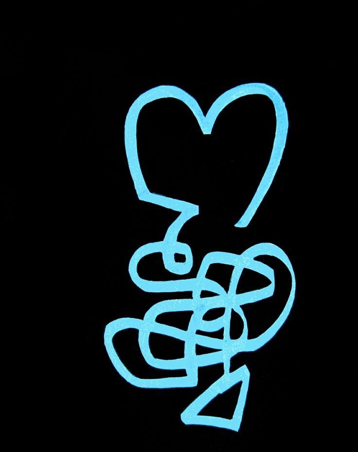 """""""Reminescenza"""" acrilico e pennarello su carta cm 20x25; 2010 #andreamattiello #tecnicamista #arte #contemporanea #artista #emergente #artist #amore #love #sanvalentino"""