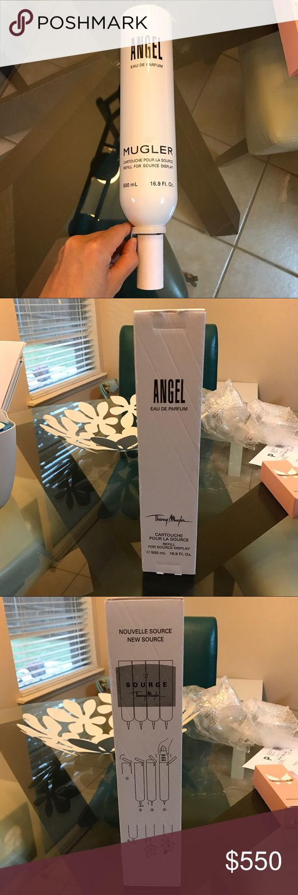 Angel refills 5 bottles Eau de perfum 500ml refills big bottle five times. Easy to use..  do it yourself. terry mugler Other
