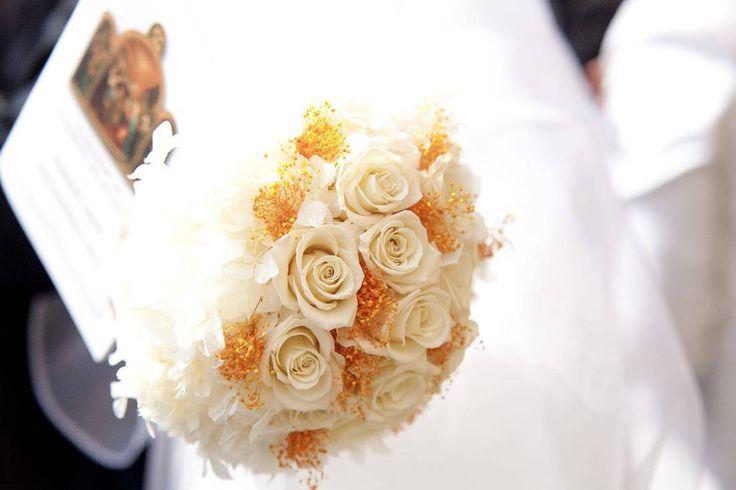bouquet romantico-elegante  bianco