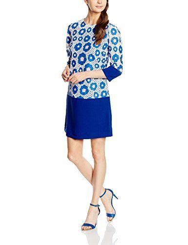 Almost Famous Damen Kleid Floral Block Tunic Dress