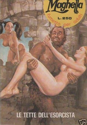 Maghella - Fumetto Erotico Italiano