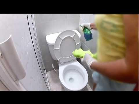 Cómo lavar el baño, un buen truco que no te puedes perder - YouTube