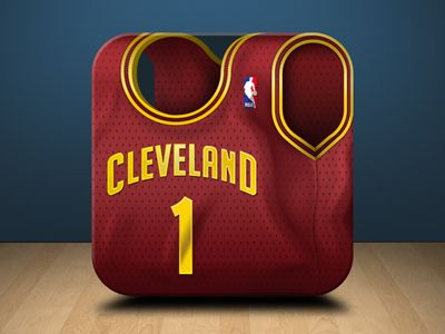 Cleveland Cavaliers Jersey Icon