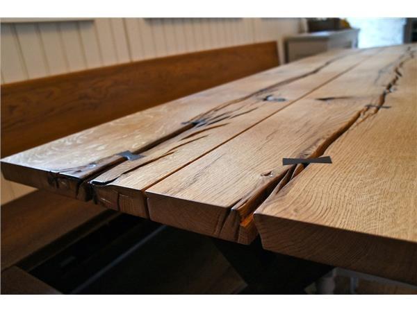 Spisebord, egetræ, spisebord   mann original wood design ...