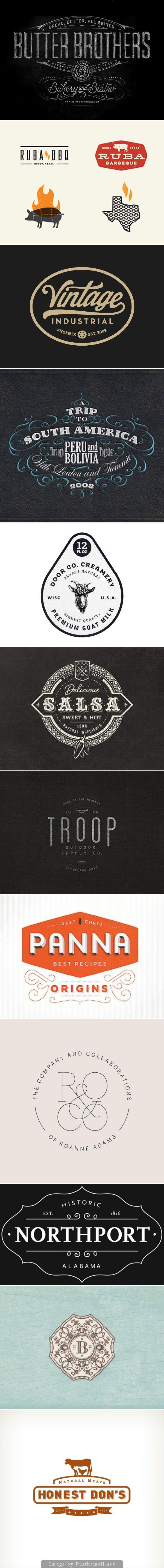 Vintage & Retro Logo Designs