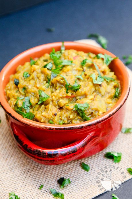 Roasted Smoked Eggplant Curry #vegan #glutenfree | www.vegetariangastronomy.com
