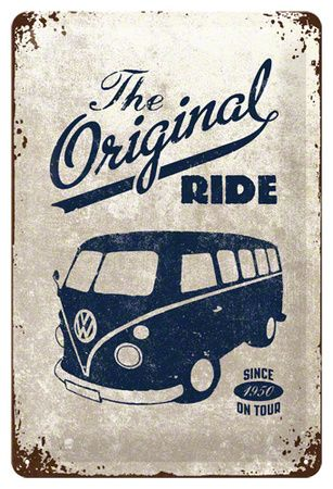 VW The Original Ride Tin Sign - AllPosters.co.uk