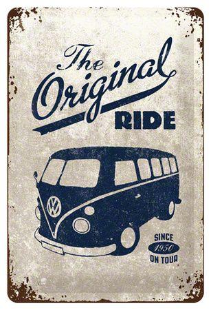 VW The Original Ride Emaille bord bij AllPosters.nl Vintage Vans l Social Media Company l Ignaccolo & co. www.ignaccolo-co.com l Rosario