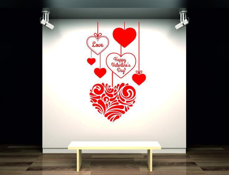 Mejores 432 im genes de decoraci n en pinterest amantes - Vinilos de amor ...