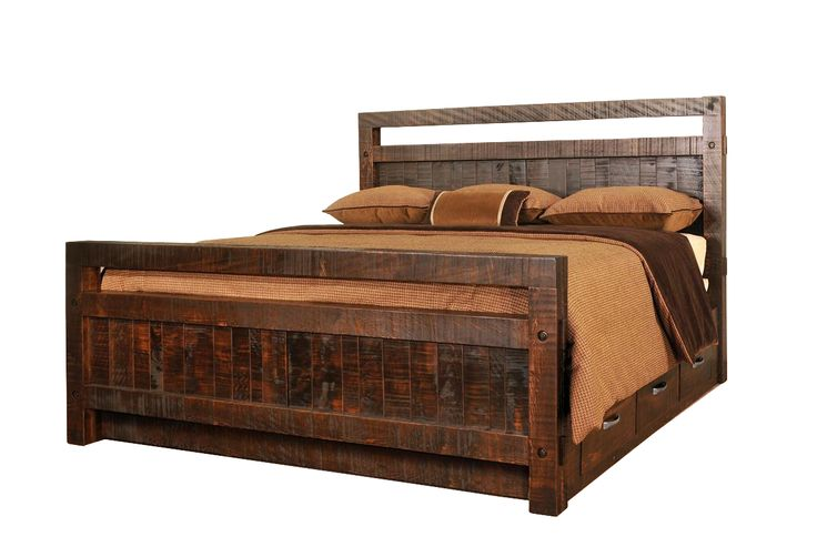 Ruff Sawn Timber Bed Ruff Sawn furniture Collection Fit for the farm, or in a loft in Manhattan, the Ruff Sawn Timber Bed will bring warmth and comfort into any bedroom space. At the heart of th