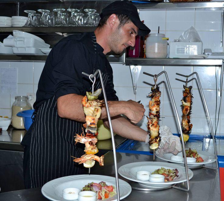 Our chef is so creative! Well done! #DelfinoBlu #Corfu #Gastronomy