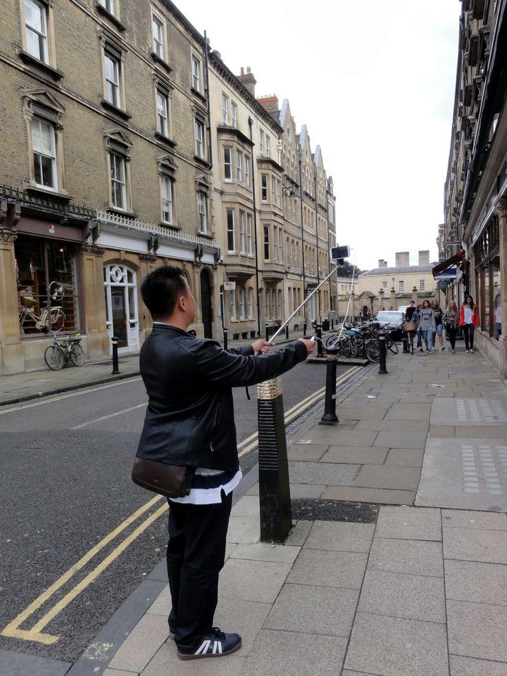 Selfie in Oxford