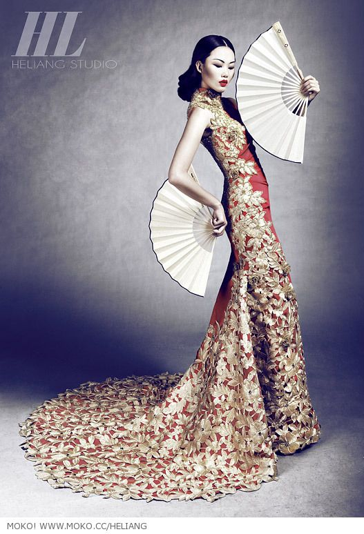 W u X i a — 何亮HELIANG STUNNING TEXTILES AND DRAPING!