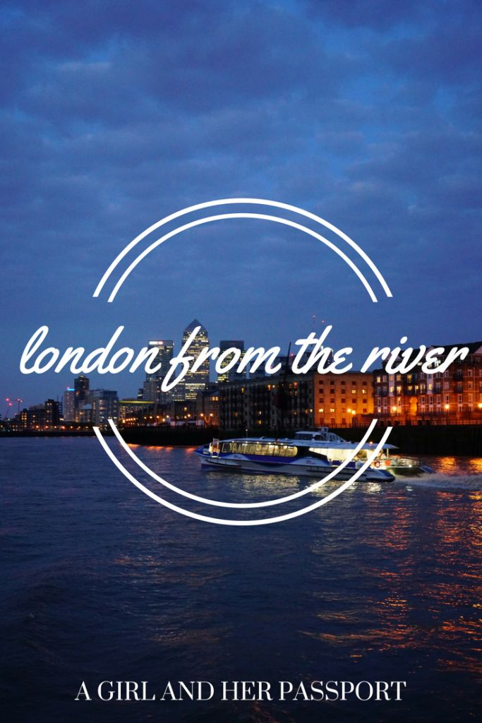 Get a different view of London from the River. The Thames offers stunning views of the city of London, England.