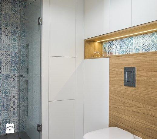 łazienka styl Skandynawski - zdjęcie od EG projekt - płytki Dune Majolika