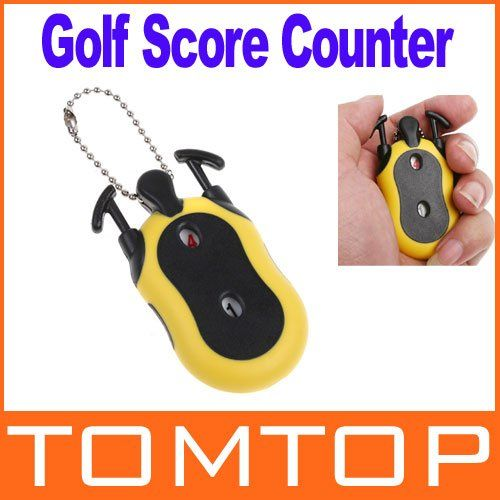 Mini Golf Stroke  Score Counter Keeper with Key Chain