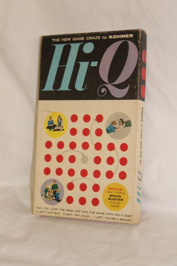 1950's Hi Q board game