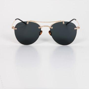 Tasarım Güneş Gözlüğü - Siyah Cam