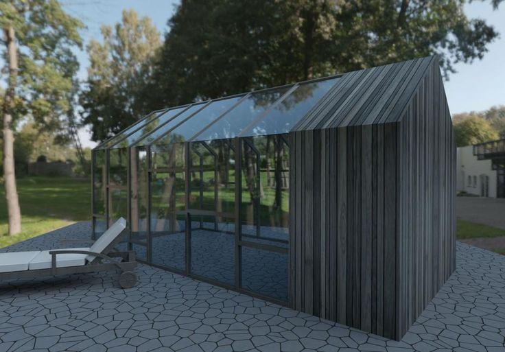 17 best images about barns garages cabins chalets on for Garajes chalets