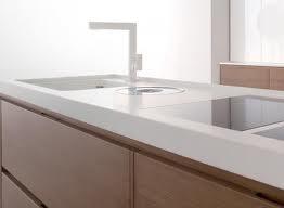 white corian countertop