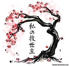 Image result for weeping cherry tree trunks with branches silhouette