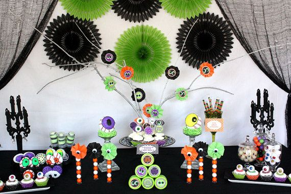 Eye See You Halloween Birthday Party Decor by BellaGrey Designs