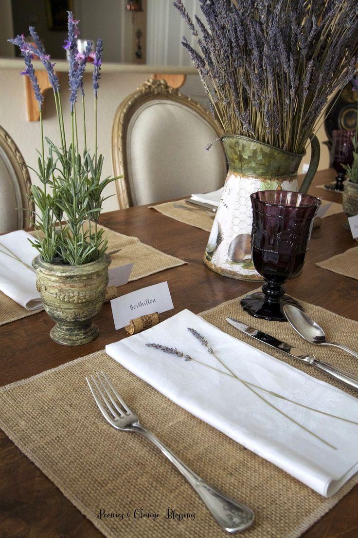 Bon Country Style Table Settings Loris Decoration