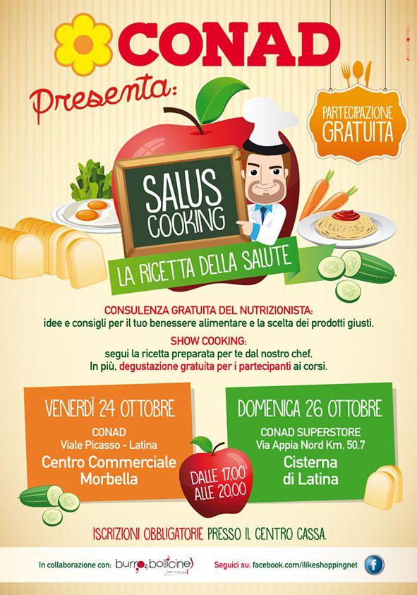 #conad superstore #salute Salus Cooking #nutrizionista #consigli