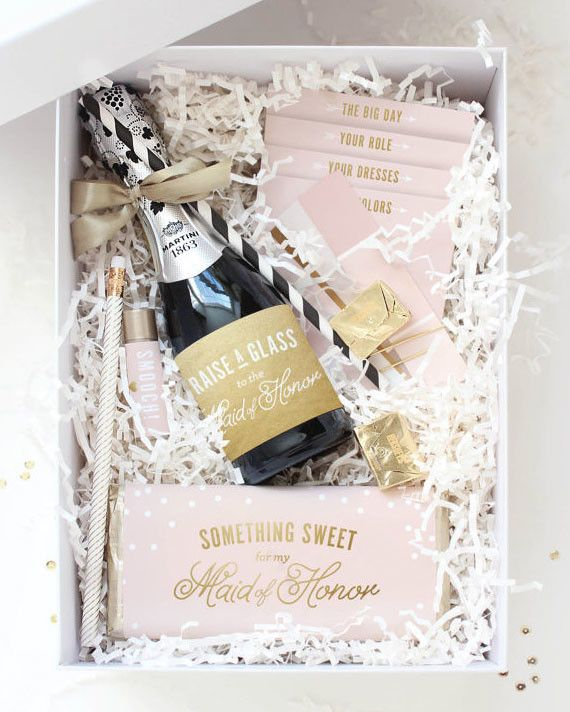Wedding Gift For Childhood Friend : Remember that your wedding day is cause for celebration! Pop open a ...