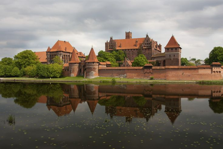 The Knights Of The Cross castle in Malbork | Zespół zamkowy w Malborku (woj. pomorskie)