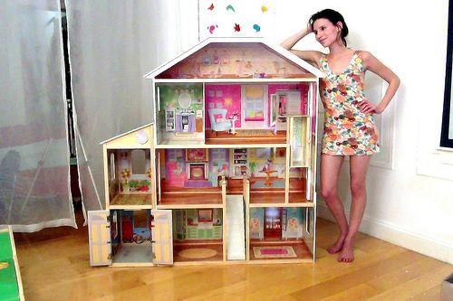 Case delle bambole fai da te - Fotogallery Donnaclick