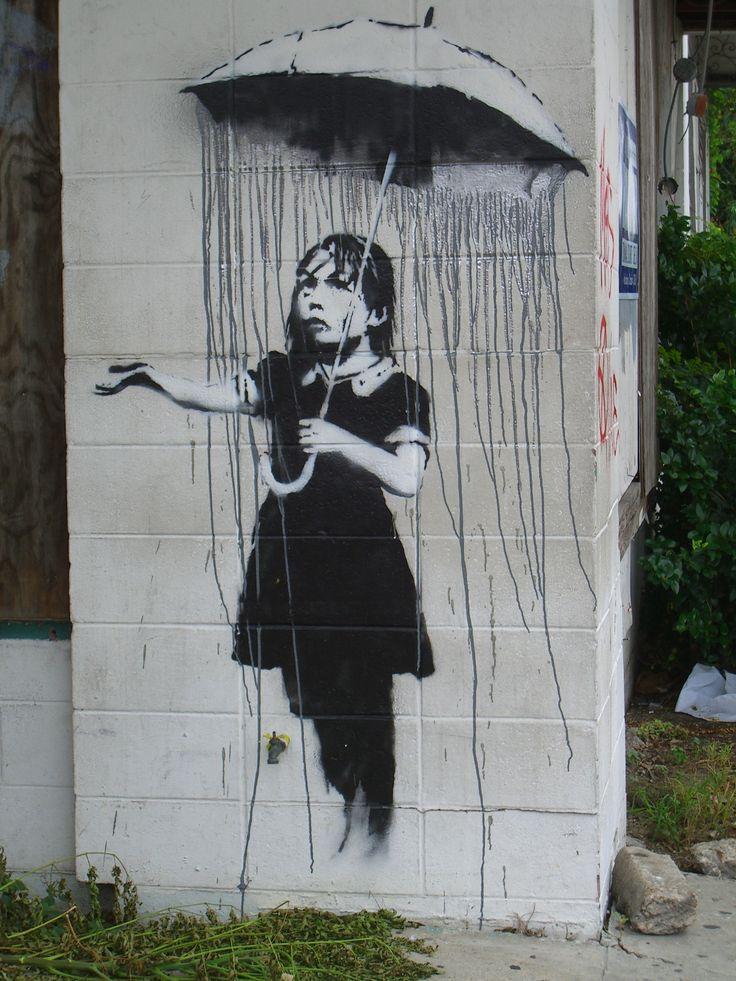 STREET ART UTOPIA » We declare the world as our canvas: Street Artists, New Orleans, Street Art Utopia, Urban Art, Streetartutopia, Graffiti, Art Piece, Banksy, Rain
