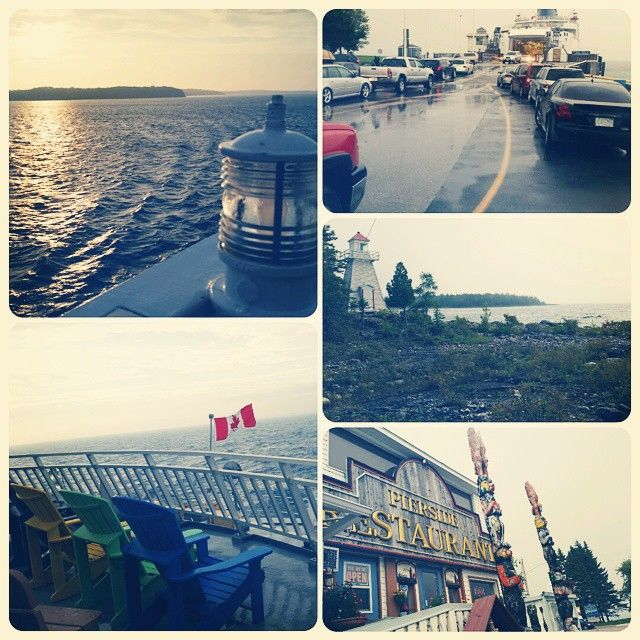 Manitoulin island and ferry ride. #love #weekend #sunset #relax #dog #happy #instadaily #getaway