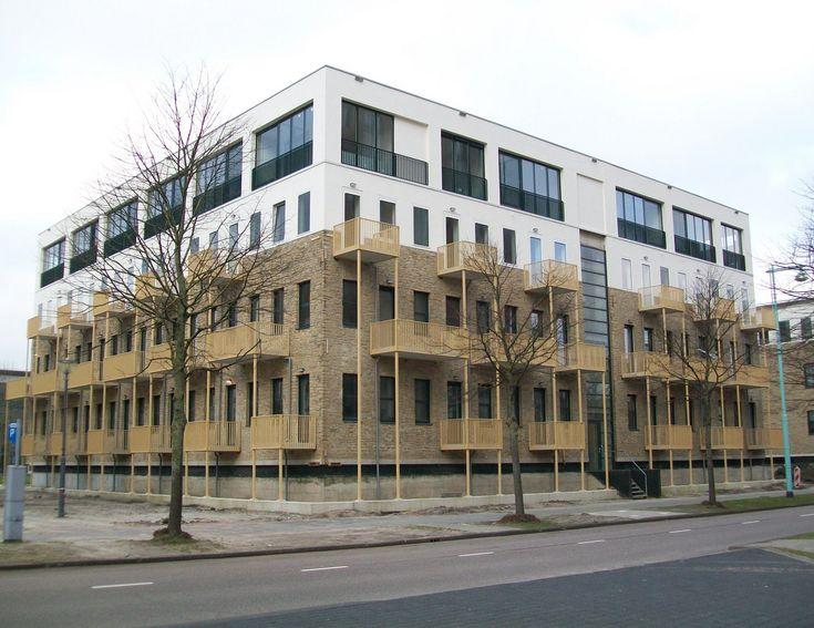 Amsterdam Sloterdijk, former officebuilding