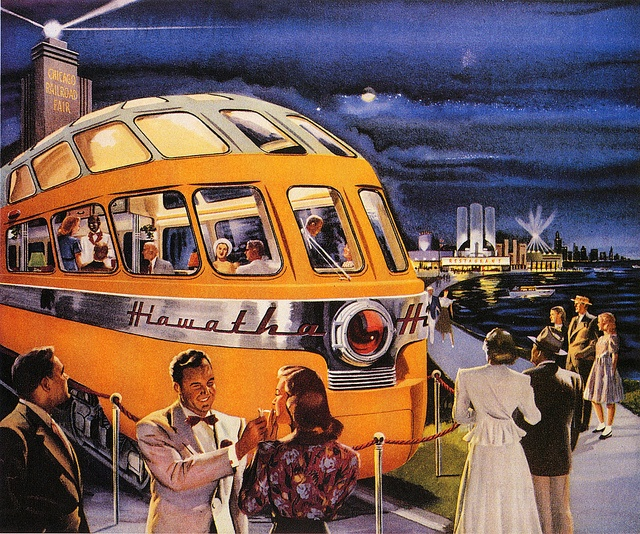 The Hiawatha Observation Car by paul.malon