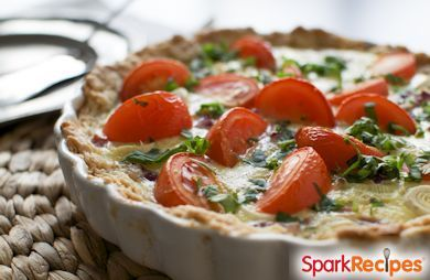 Low-Carb Crustless Quiche Recipe via @SparkPeople