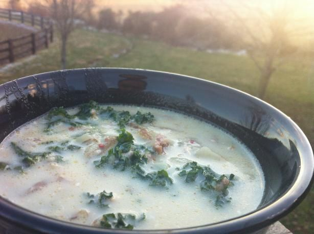Better Than Olive Garden's Zuppa Toscana.  11/1/13 I made this last night and it was super yummy!