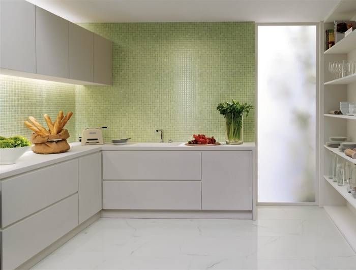 Piastrelle bagno mosaico verde affordable verde abalone shell