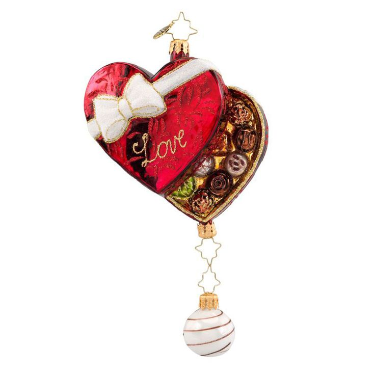 Christopher Radko Ornaments 2016 | Radko Box of Love Ornament